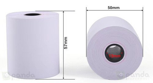 57mm x 50mm Thermal paper size