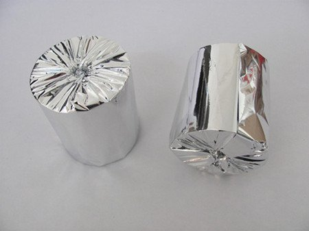 Silver Foil Packing Paper Roll