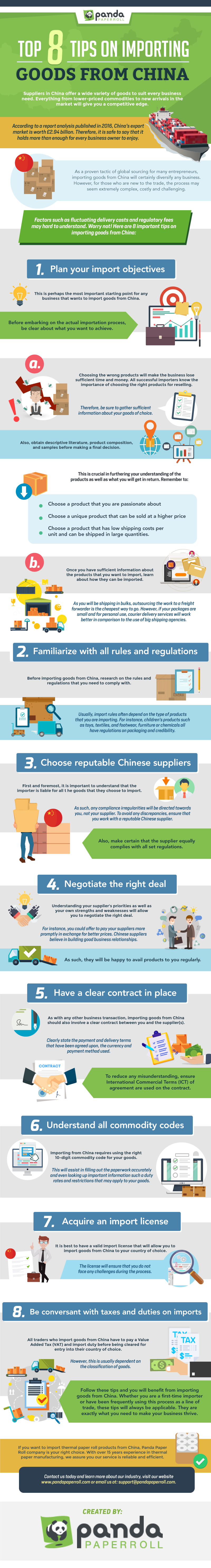 Top 8 Tips On Importing Goods From China