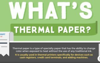 what's thermal receipt paper
