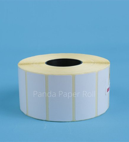 50mm x 25mm blank label roll