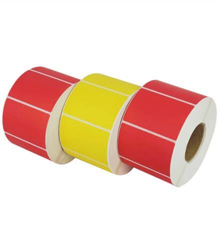 Colored Thermal Label Roll