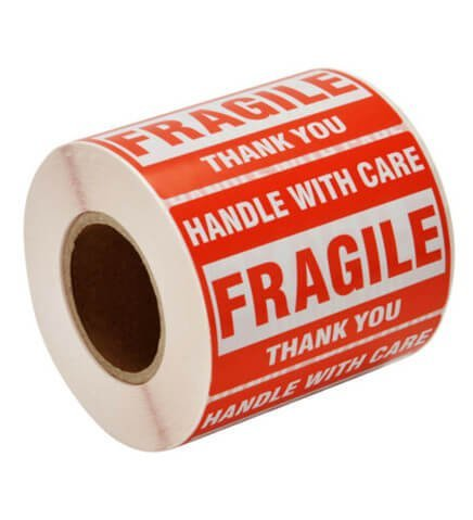 Fragile Red Label Rolls