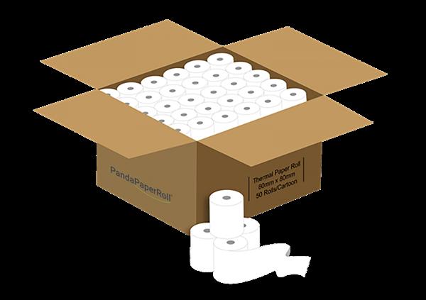 Panda Paper Roll carton mockup